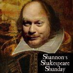 Shannon's Shakespeare Shunday Show Logo