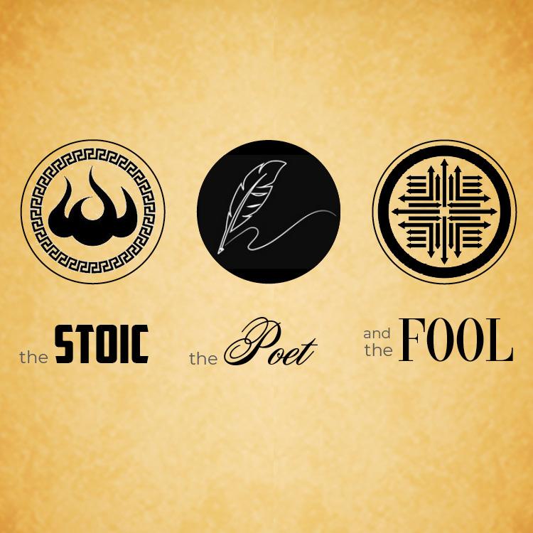 Stoic Poet Fool Show Logo